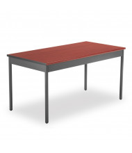 "OFM UT3060 60"" W x 30"" D Rectangular Utility Table (Shown in Cherry)"