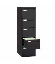 "Tennsco V285C-MF 5-Drawer 28"" Deep Vertical File Cabinet, Legal (Shown in Black)"