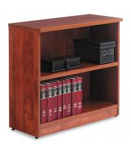 Alera Valencia VA633032MC 2-Shelf Laminate Bookcase in Medium Cherry Finish