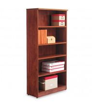 Alera Valencia VA636632MC 5-Shelf Laminate Bookcase in Medium Cherry Finish