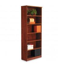 Alera Valencia VA638232MC 6-Shelf Laminate Bookcase in Medium Cherry Finish
