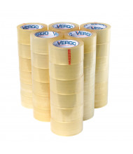 "Vergo Industrial 1.88"" x 60.2 yds 2.7 Mil Clear Packing Tape, Pack of 36"
