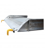 Vestil AWR-B Steel Hook Aluminum Walk Ramps