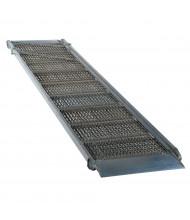 Vestil AWR-G-A Overlap Aluminum Grip-Strut Walk Ramps