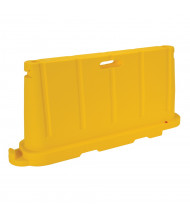 "Vestil 76.5"" L x 36"" H Jumbo Poly Traffic Barricade (Shown in Yellow)"