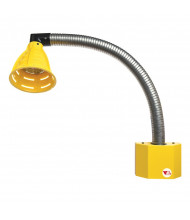 "Vestil 27"" L LED Flexible Gooseneck Dock Loading Light"