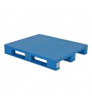 "Vestil 48"" W x 40"" L 8800 lb Capacity Solid Top Rackable Plastic Pallet/Skid"