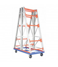 Vestil RERC-CT Double-Sided Portable Reel Rack Carts 4000 lb Load (Model 368)
