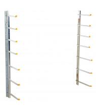 """Vestil 60"""" H Wall Material Rack"""