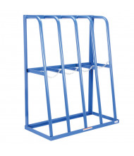 "Vestil 48"" W 4-Bay Vertical Storage Racks"