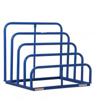 "Vestil 48"" W x 36"" D x 42"" H 4-Bay Variable Height Sheet Rack"