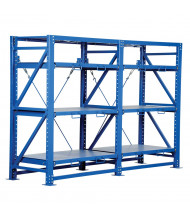 "Vestil 32"" D x 80"" H Heavy Duty Roll-Out Shelving Units"