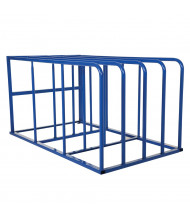 "Vestil 50"" W x 84"" D x 44"" H 4-Bay Sheet Rack"