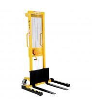 Vestil VWS-770-AA Manual Winch 770 lb Load Adjustable Forks Stacker