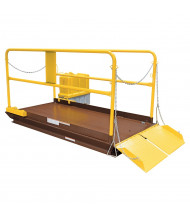 "Vestil 5000 to 8000 lb Load 96"" L Scissor Lift Docks"