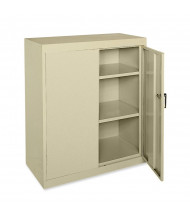 "Sandusky 36"" W x 18"" D x 42"" H Counter Height Storage Cabinet, Assembled (Shown in Putty)"