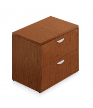 """Offices to Go Ventnor VF3624LF 36"""" W 2-Drawer Lateral File (Shown in Toffee)"""