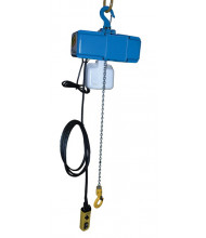 Vestil VS-ECH-10-1PH 13 ft. Variable Speed Electric Chain Hoist 1000 lb Load (chain container included)