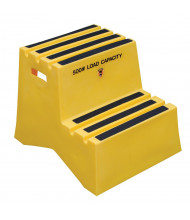 Vestil 2-Step Polyethylene Step Stool
