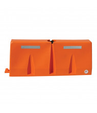 "Vestil 60.5"" L x 24.5"" H Poly Traffic Barricade (orange)"
