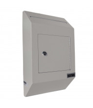 DuraBox W300 Letter Size Wall Drop Box with Tubular Key