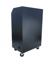Amplivox Steel Sentry Mobile Workstation Podium