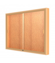 "Waddell Legacy 88 Series Wall Display Cabinet 36""H x 4""D (Shown in 48"" W / Cork)"