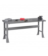 Tennsco Steel Top Fixed Leg Workbenches