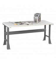 Tennsco Plastic Laminate Top Fixed Leg Workbenches