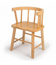 "Whitney Brothers 12"" Bentwood Maple Chair"