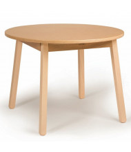 "Whitney Brothers 28"" D x 21"" H Round Children's Table"