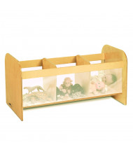 Whitney Brothers 3-Section Toy Classroom Storage