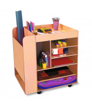 Whitney Brothers Mobile Art Storage Cart