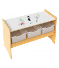 Whitney Brothers Write and Wipe Play Table