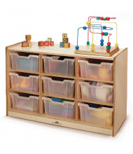 Whitney Brothers 9 Tray Storage Cabinet