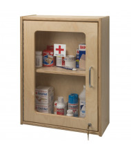 Whitney Brothers First Aid Wall Mount Medicine Cabinet