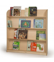 "Whitney Brothers 50"" H Compact Library Bookshelf"