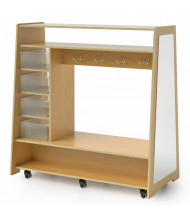 Whitney Brothers Mobile Dress Up Center with Trays