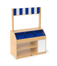 Whitney Brothers Preschool Market Stand Play Set