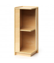 "Whitney Brothers 30"" H Corner Storage Cabinet"