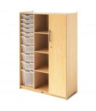 Whitney Brothers Teacher's Wardrobe Storage Locker with Trays