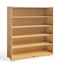 "Whitney Brothers 54"" H 5-Shelf Storage Cabinet"