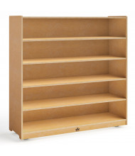 "Whitney Brothers 48"" H 5-Shelf Storage Cabinet"
