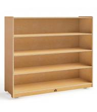 "Whitney Brothers 42"" H 4-Shelf Classroom Storage Unit"