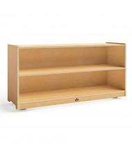 "Whitney Brothers 24"" H 2-Shelf Cabinet"