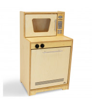 Whitney Brothers Natural Microwave and Dishwasher Play Set