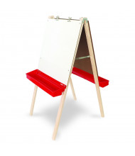 Whitney Brothers Adjustable Dry Erase Board Double Easel