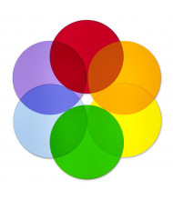 Whitney Brothers Color Wheel Circles, Set of 6