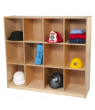 Whitney Brothers 12 Cubby Backpack Storage