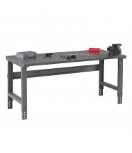 Tennsco Steel Top Adjustable Leg Workbenches
